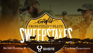GoWild Announces the From Field to Plate Sweepstakes