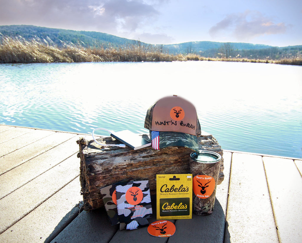 Giveaway: $200 Cabela's Gift Card & More from Hunt'n Buddy App