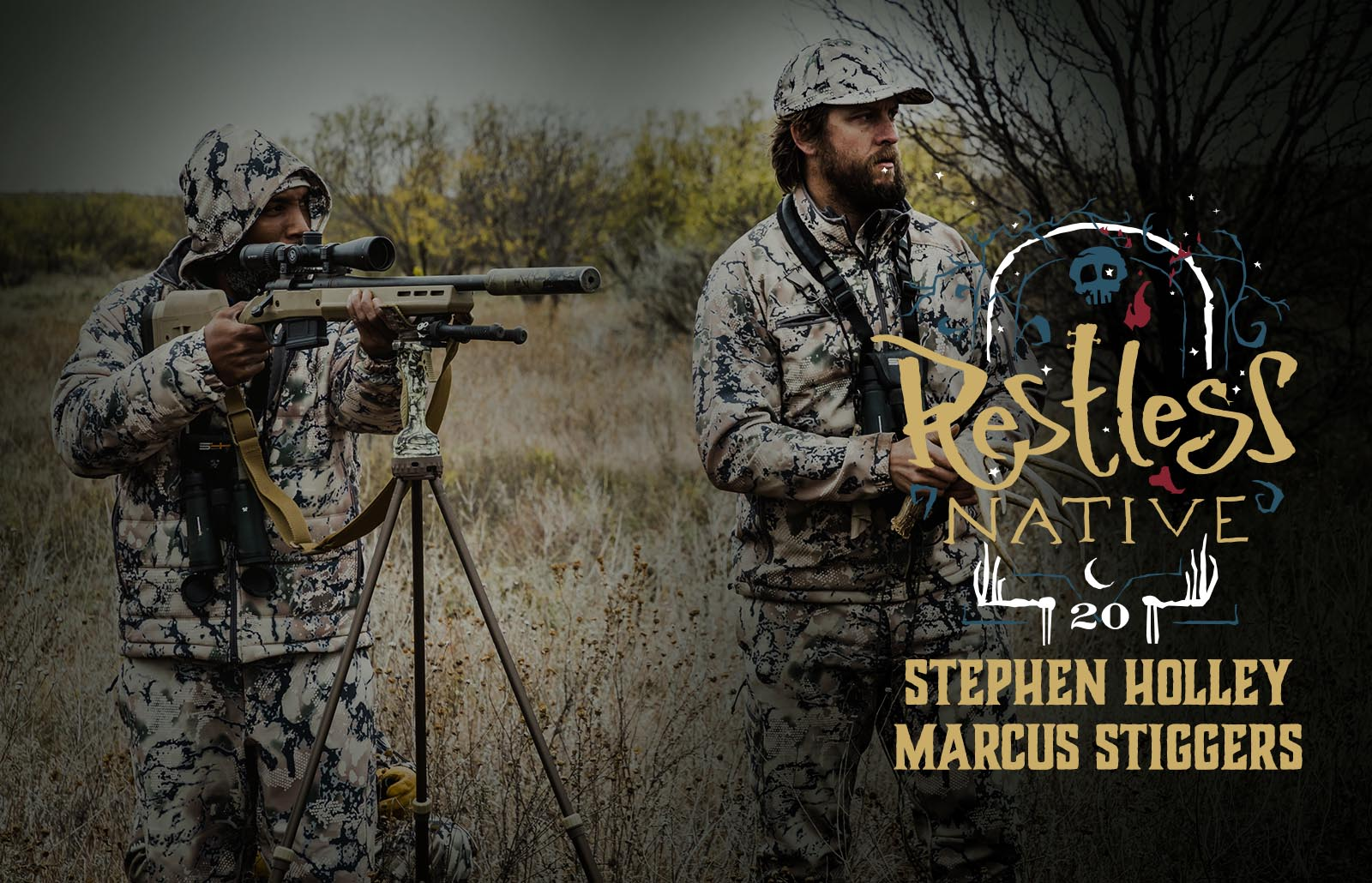 Restless Native: Stephen Holley & Marcus Stiggers, Team SIXSITE