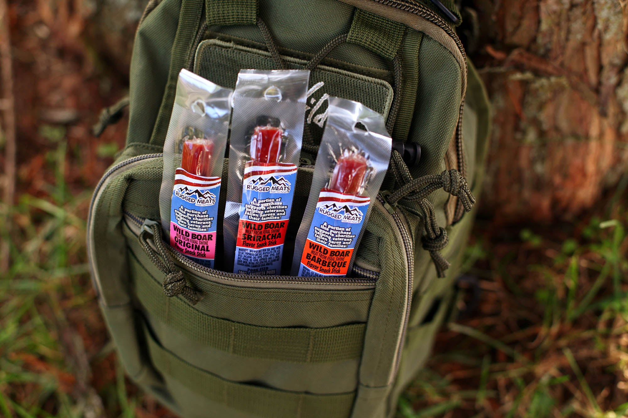 GoWild Giveaway & Q&A: Rugged Meats, Free-Range Boar Sticks
