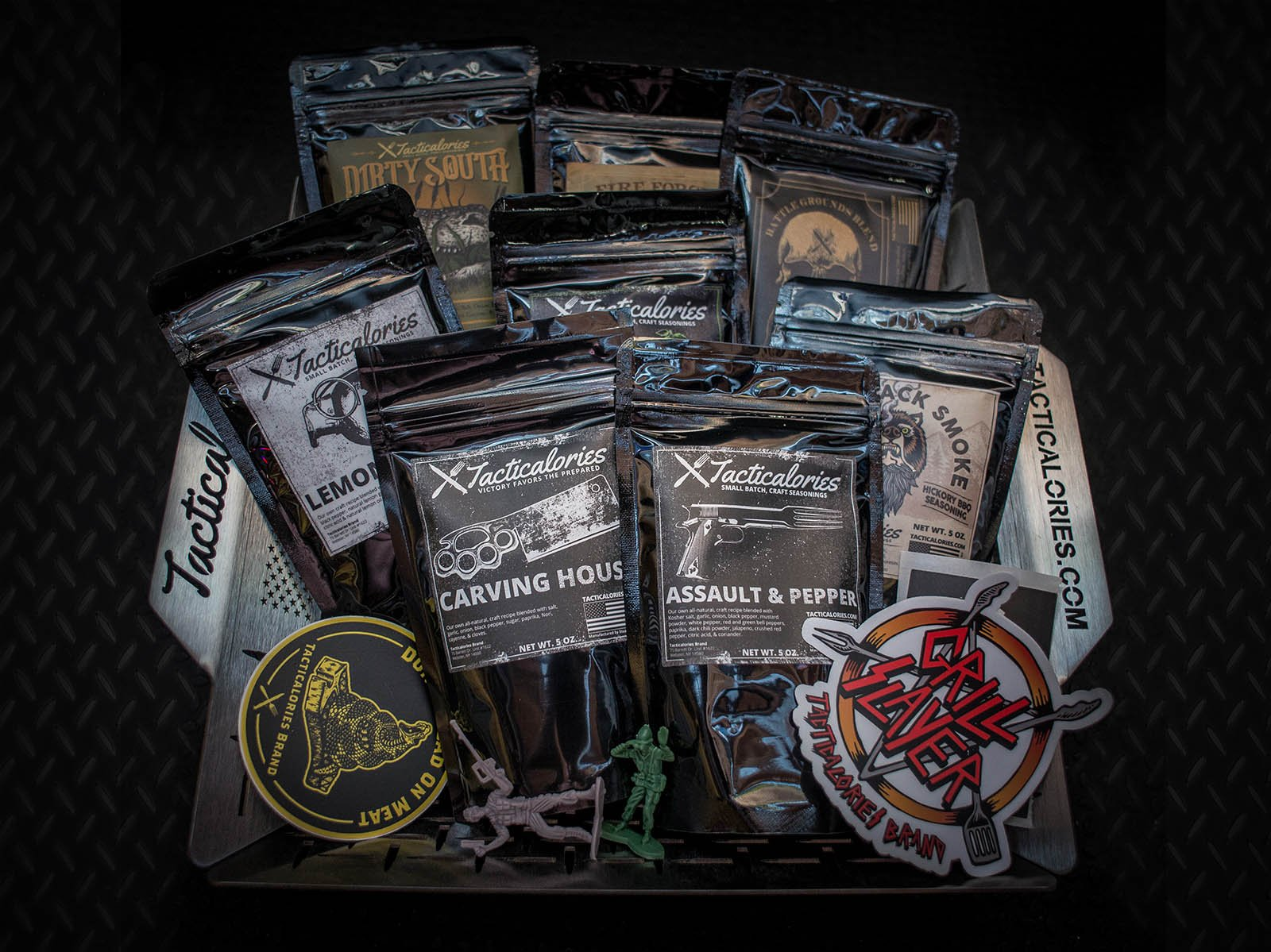 Giveaway: Tacticalories Grilling Basket & Seasonings Kit