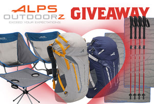 Giveaway: Sweet Hiking Package For Two by ALPS OutdoorZ