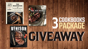 Giveaway: 3 Cookbooks Package