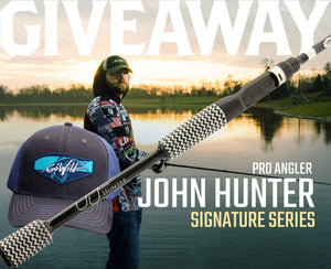 Giveaway: John Hunter Signature Series Rod & Bass Hat