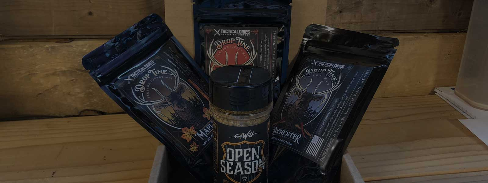 Giveaway: 3 Winners for Tacticalories Seasoning
