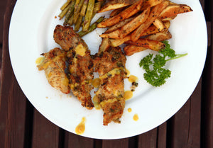 GoWild Recipe: Wild Turkey Strips with Honey Mustard Dipping Sauce