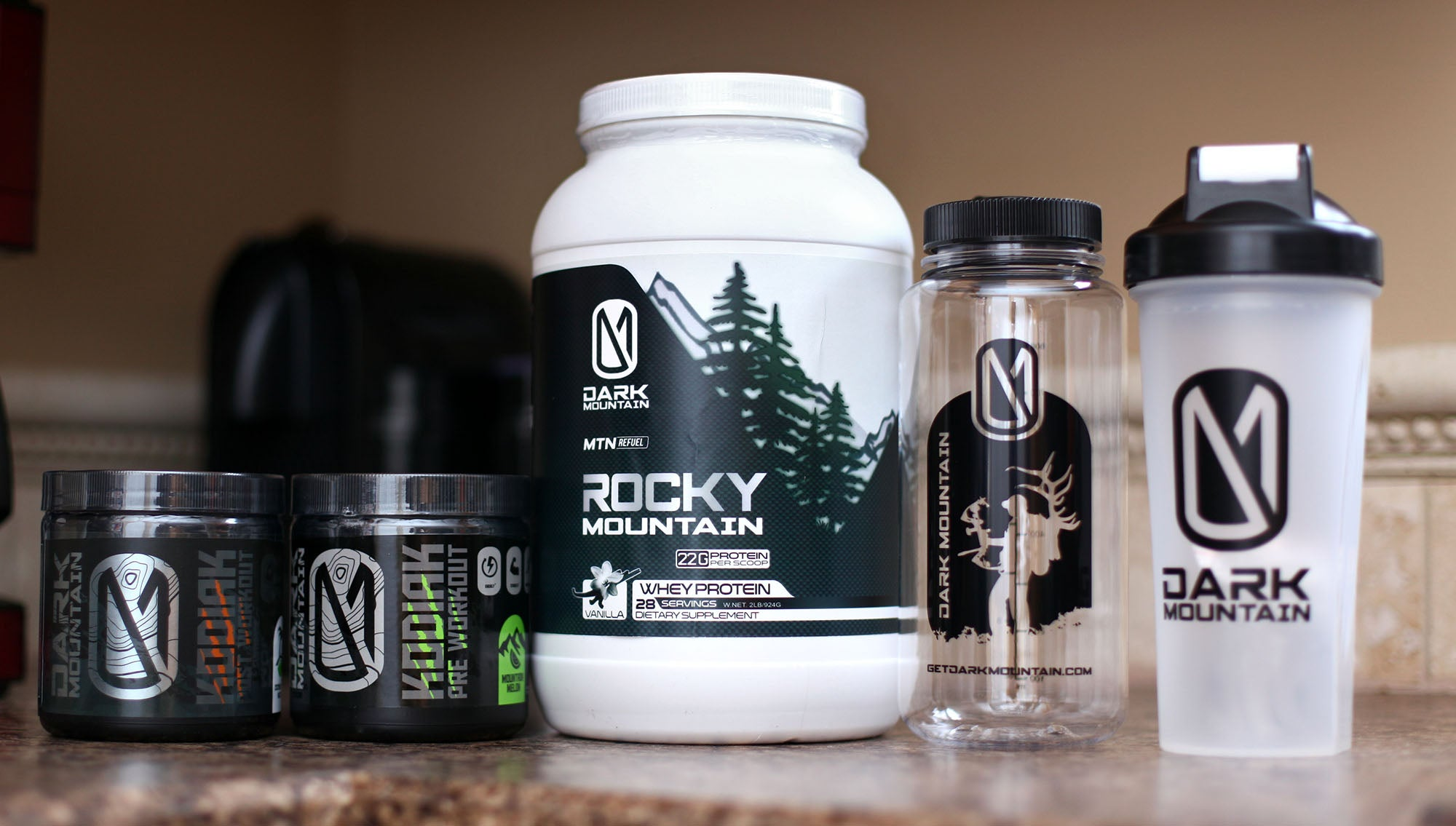 Giveaway: Dark Mountain Performance Supplements Package