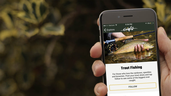 GoWild Fishing App