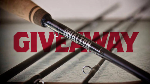 Walton Rods Fishing Rod Giveaway