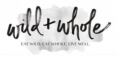 Wild and Whole's beautiful logo