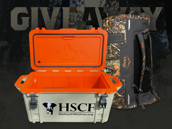Giveaway: Houston Safari Club Foundation's OtterBox Cooler and