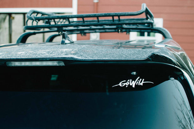 GoWild Vinyl Decal