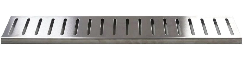 Slotted shower grate