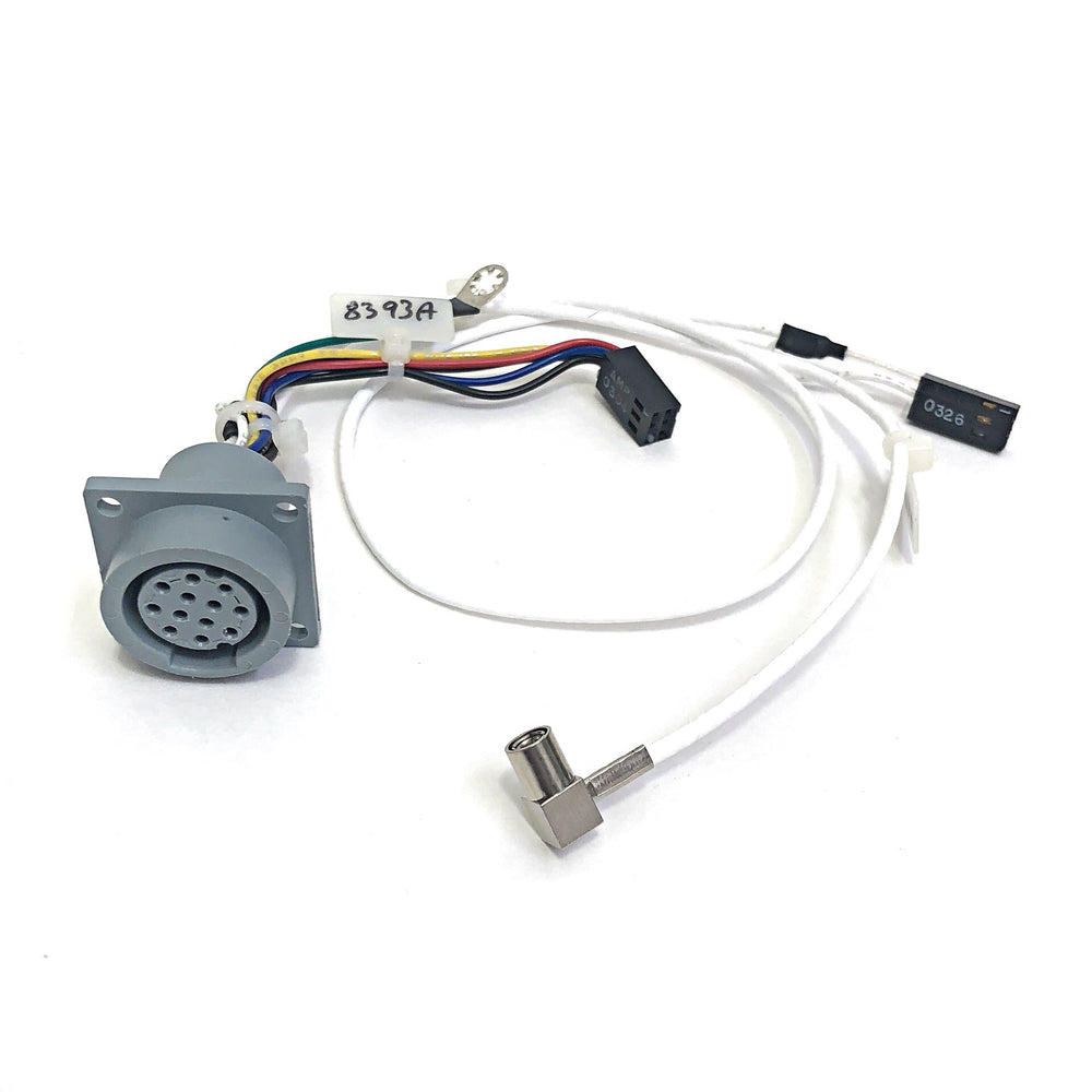 GE Corometrics 120 Series Fetal Monitor Ultrasound Cable Connector Assembly - Even Biomedical