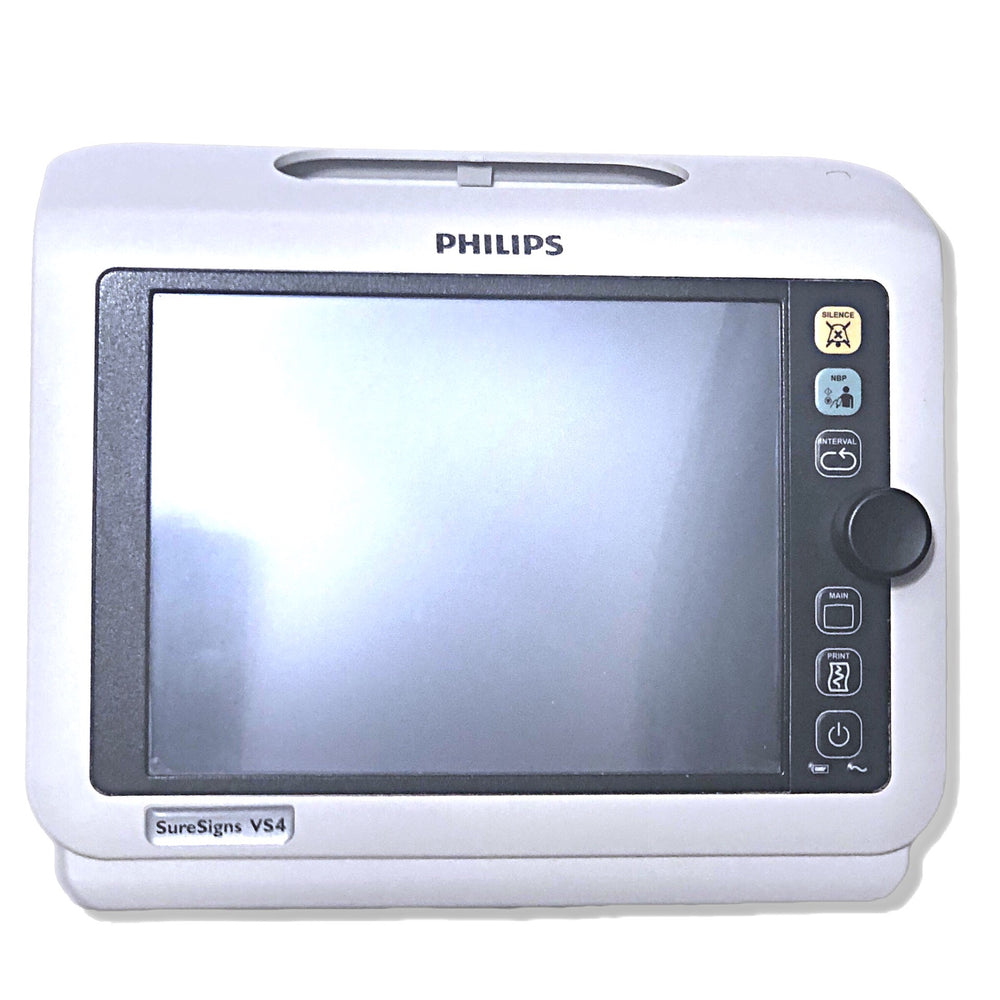 Philips SureSigns VS4 Monitor Complete Front Display (lcd, glass, bezel, control knob, etc.) - Even Biomedical