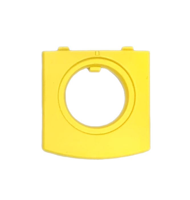 Philips Intellivue BIS Module M1034a / M1034b Font Bezel Connector Cover / Trim Plastic | Yellow