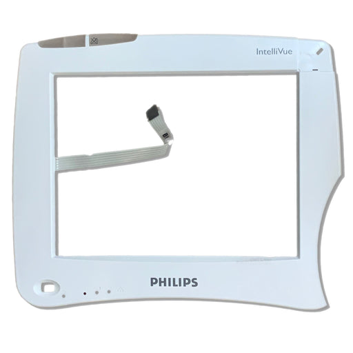 Philips MP50 Monitor ELO Touch Glass Panel & Plastic Bezel Assembly