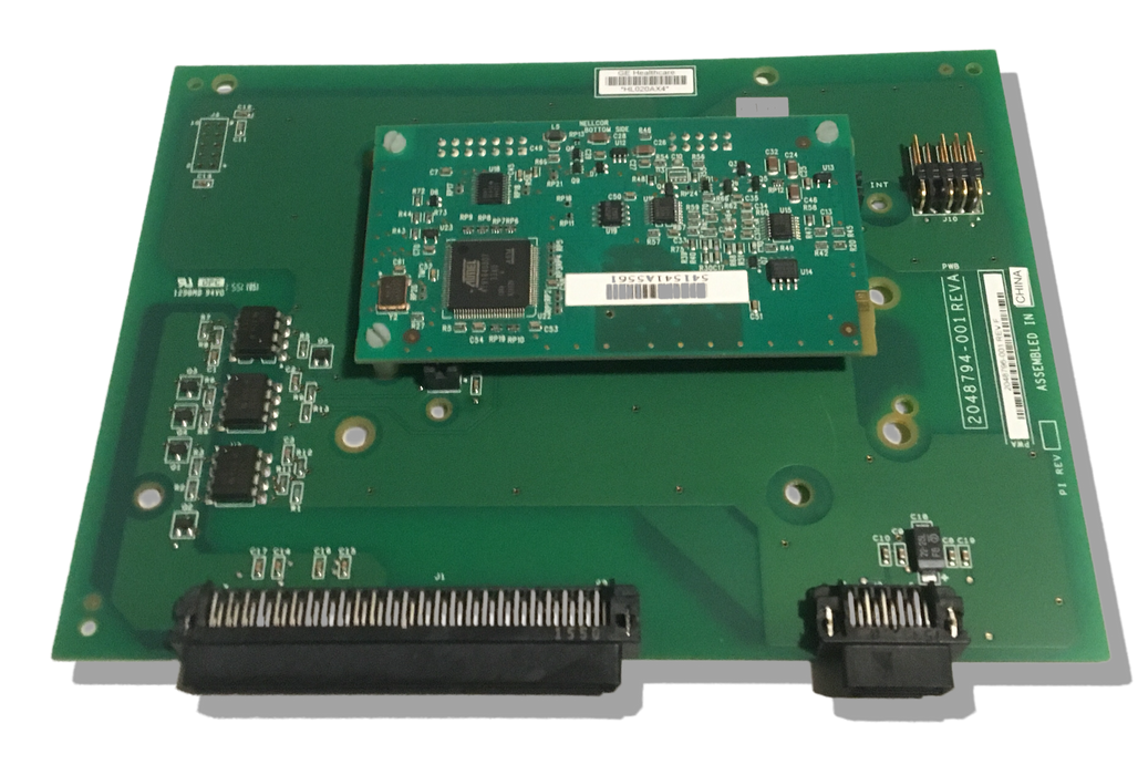 GE Corometrics 250 Series Carrier Board & Nellcor Oximeter Board Assembly