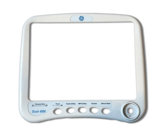 GE DASH 4000 Front Display Housing / Bezel