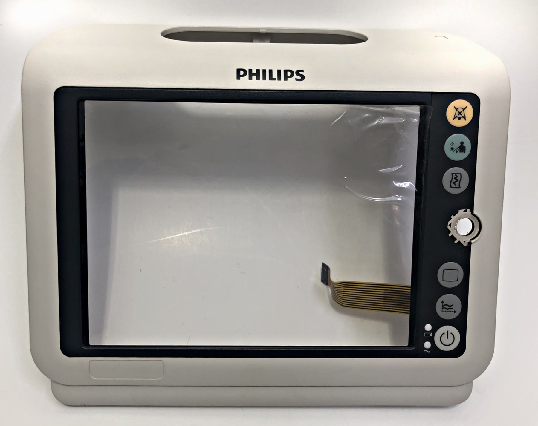 Philips SureSigns VM4 / VM6 Vital Signs Monitor Front Screen Bezel & Keypad Button Assy. - Even Biomedical