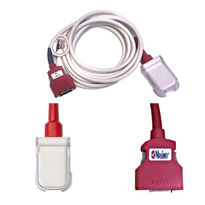 Masimo RED LNCS 20 pin SpO2 Extension Cables - Even Biomedical