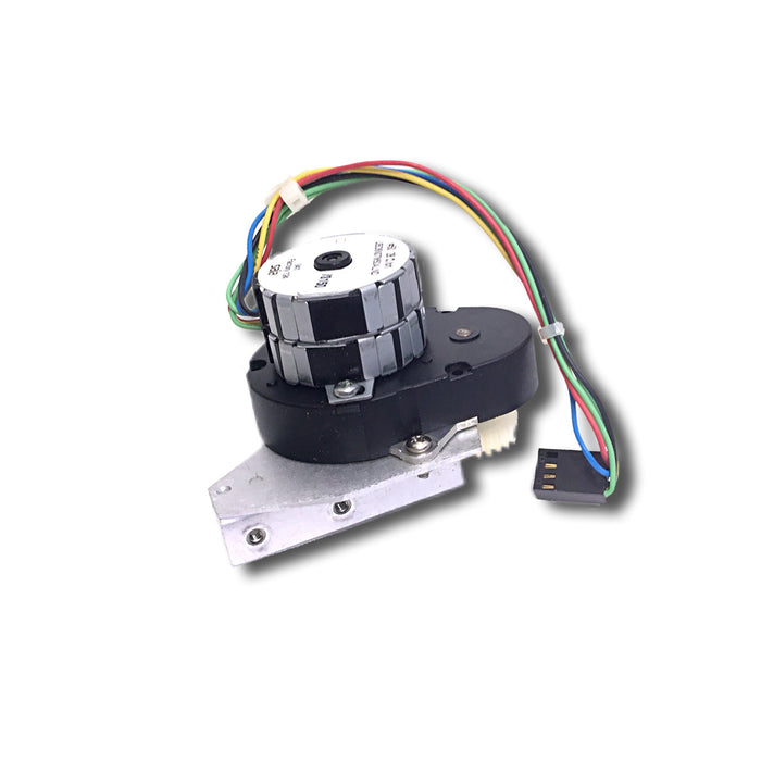 GE Corometrics 170 Series Fetal Monitor Recorder / Printer Stepper Motor Assembly with Mounting Brackets Rear View