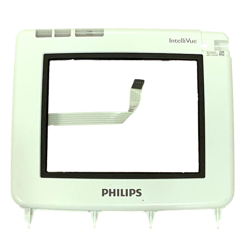 Philips Intellivue MP5/MP5T Monitor Front Bezel & ELO Touch Screen & Glass Assembly (5-wire)