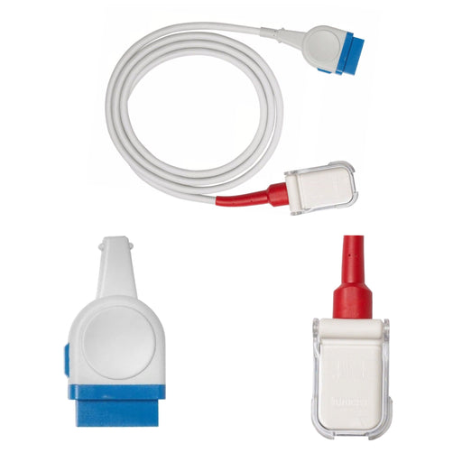 Masimo LNCS to GE SpO2 Extension Cables - Even Biomedical