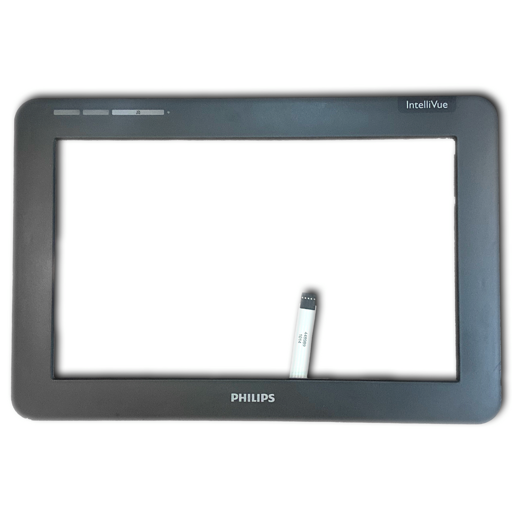 Philips Intellivue MX450 / MX500 Monitor Front Bezel & Touch Glass Assembly