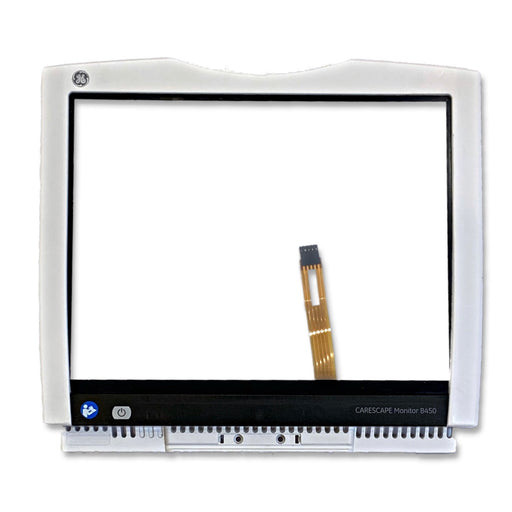 GE B450 Monitor Front Bezel Assembly with Touchscreen