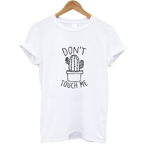 Don't Touch Me Cute Cactus Tee