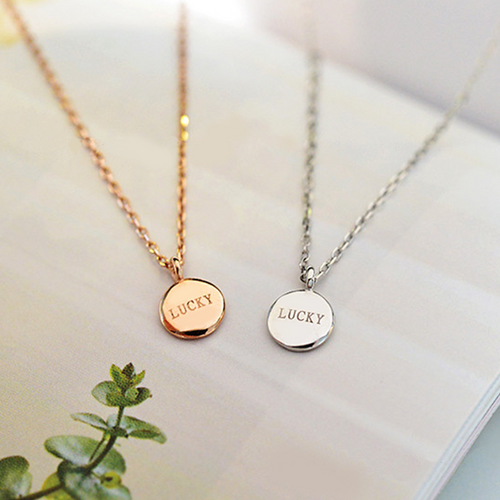 Lucky To Be Here Necklace