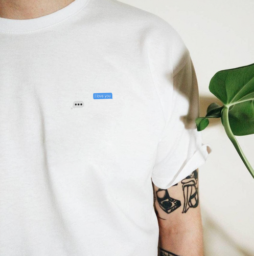 Waiting on Love Embroidered Tee