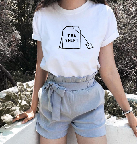 Cute and Comfy Relaxed Fit Tea-Shirt