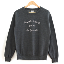 Ravioli Ravioli Give Me The Formuoli Crewneck Sweatshirt