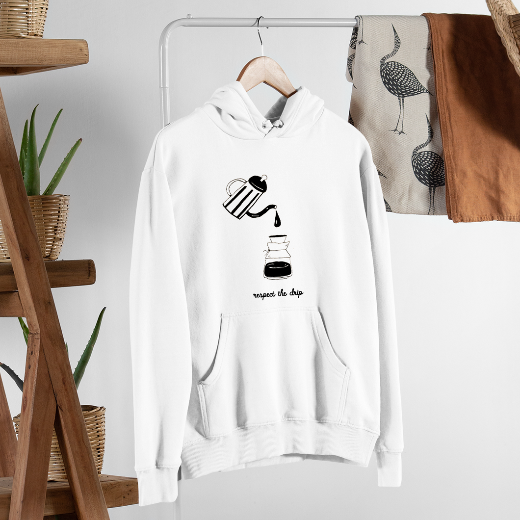 Respect The Drip Retro Unisex Hoodie