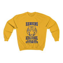 Hawkins Middle School Crewneck Sweatshirt