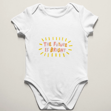 The Future is Bright Baby Onesie
