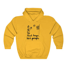 Shoot Hoops Not People 1994 Retro Unisex Hoodie