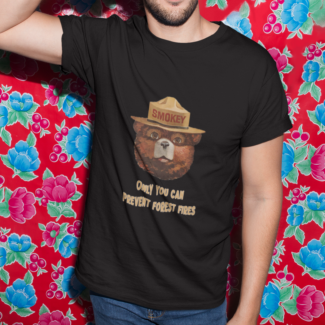Smokey The Bear Retro Unisex T-Shirt