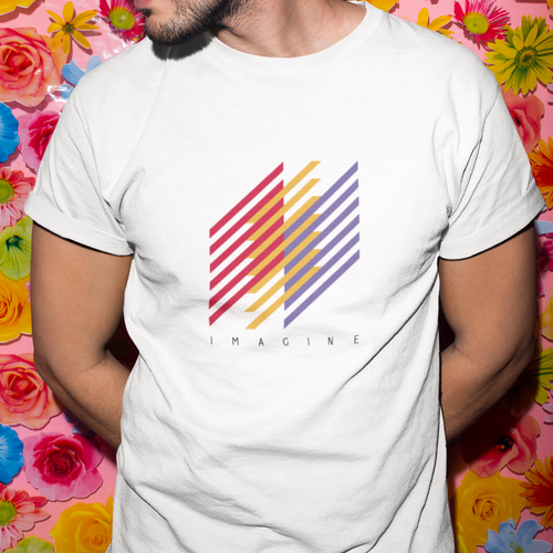 Imagine Art Abstract Unisex T-Shirt