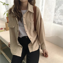 Easy Breezy Retro Corduroy Jacket