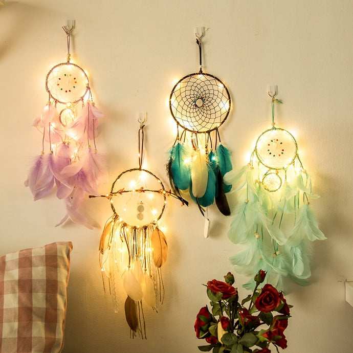 Magical Vibes Warm LED Dream Catcher