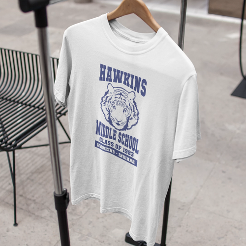 Hawkins Middle School Unisex T-Shirt