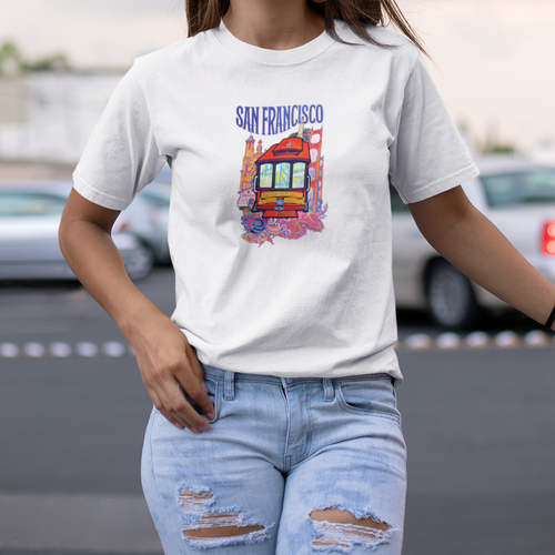 San Francisco Trolley Unisex T-Shirt