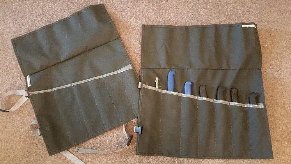 Canvas Knife Roll