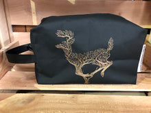 embroidered Box Toiletry Bag