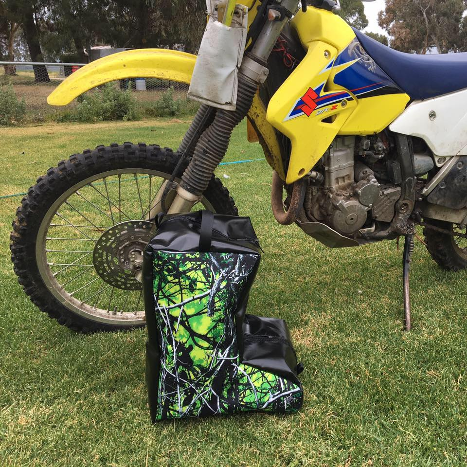Adult Camo Motorbike Boot Bag
