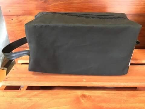 Canvas Box Toiletry Bag