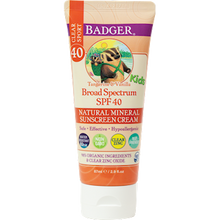 Kids Clear Zinc Sunscreen - Badger